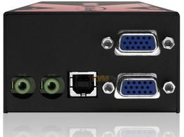 Adder X-USBPRO-MS2-US Dual VGA/Audio/4-Port USB CatX Extender