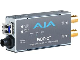 AJA FiDO-2T Dual channel SDI to LC Fiber Extender (Transmitter) up to 10km