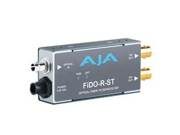 AJA FiDO-R-ST Single channel ST Fiber to SDI Converter/Extender (Receiver) dual SDI outputs to 10km