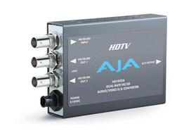 AJA HD10CEA SD/HD-SDI Video w Embedded Audio to Analog Video and Audio Converter