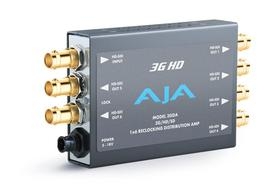 AJA 3GDA-b 1x6 3G/HD/SD Reclocking Distribution Amp 3G/HD/SD-SDI and 6 SDI outs