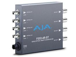 AJA FiDO-4R-ST 4-channel Optical Fiber to 3G-SDI Converter