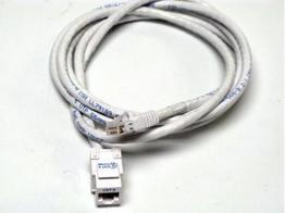 Altinex CM11358 6ft CAT6/RJ-45 F/M SNAP IN ASSEMBLY Cable (White)