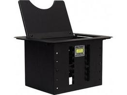 Altinex CNK200 Cable-Nook Modular Tabletop Interconnect Box/Black