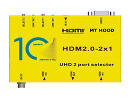 Apantac HDM2.0-2x1 2x1 4K 60Hz HDMI 2.0 and HDCP 2.2 Switch