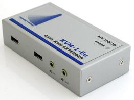 Apantac KVM-1-Eu VGA/USB/KVM Extender over CAT 5e/6 up to 1000ft at 2048x1536