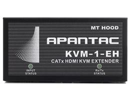 Apantac KVM-SET-10 Single Port HDMI/USB KVM Extender (Transmitter/Receiver) Kit - 150ft