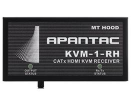 Apantac KVM-1-RH HDMI/DVI-D/USB KVM Extender (Receiver) over CAT 5e/6 - 150ft