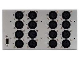 Apantac AA-UNBL 16x BNC unbalanced analog audio inputs for LE/LX/LI/DE/DL series
