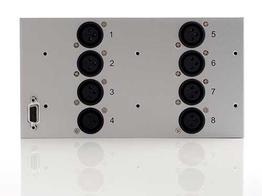 Apantac AES-BL 8x XLR balanced AES audio inputs for LE/LX/LI/DE/DL series