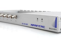 Apantac SDI-FIB-RMT 19in Rackmount for SDI-FIB Tx/Rx with hot swappable power supplies