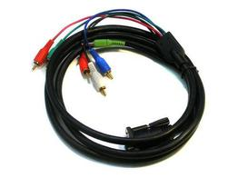 Apantac CV-SV-C-M Monitor breakout cable for Composite and S Video for VGA-1-E