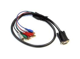 Apantac CV-SV-C-SR 3in Composite and S-Video Breakout Cable for VGA-1-E Extender