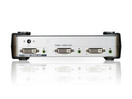 Aten VS162 2 Port DVI Video/Audio Splitter