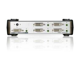 Aten VS164 4 Port DVI Video/Audio Splitter