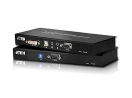 Aten CE602 DVI Dual Link and USB Based KVM Extender with Audio