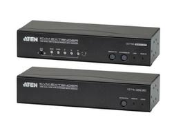 Aten CE775 USB VGA Dual View Cat 5 KVM Extender with Deskew