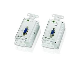 Aten VE156 VGA Over Cat5 Wall plate Extender (Transmitter/Receiver) Kit