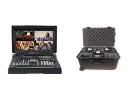 Datavideo HS-1500T-3C140TC HD/SD HDBaseT Portable Video Streaming Studio Kit with HC-800 Case
