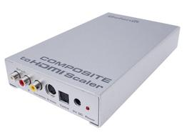 Gefen GTV-COMPSVID-2-HDMIS Composite Video to HDMI Scaler/Pre-Order