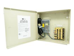 ICRealtime PWR-4DC-8A 4 Channel 12VDC Power Distribution Box/UL Listed/8 Amps Total