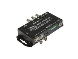 KanexPro SDI-MULTI2SDIPRO Video Cross-Converter to SDI/HDMI w Audio Embedder
