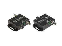 KanexPro SDI-EXTFIBERPRO Fiber Optic SDI Extender(Transmitter/Receiver) Set - Up to 6.2 miles/10Km