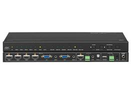 KanexPro HDSC61D-4K 6-Input HDMI/VGA Collaboration Switcher/Scaler