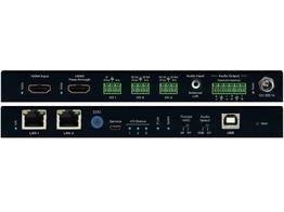 Key Digital KD-IP922ENC Enterprise AV over IP Encoder/4K/2 PoE ports LAN Switch/HDMI/Audio De-Embedding with Lip-Sync/DSP/KVM/USB