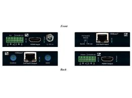 Key Digital KD-X222PO-b Power over HDMI via CAT5e/6 Extenders (Transmitter/Receiver)  Set with HDR10/HDCP2.2/4K
