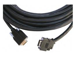 Kramer CP-GM/GM/XL-50 VGA HD Plenum Cable with a Side-Angled Connector 50ft