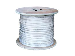 LTS LTAC2031W Coaxial Siamese Cable w/o Connectors - 500ft White