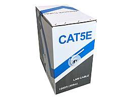 LTS LTAC5100BL-CMR 99.99 percent Oxygen-Free Copper CMR Rated UL listed Network Cable - Cat5e