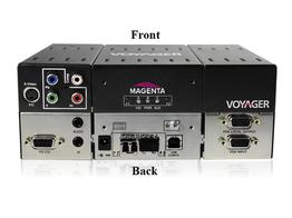 Magenta Research 2310008-01 2-p Extender (Transmitter) with VGA/S-Video/YUV/Audio/RS-232/One MMF SFP