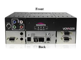 Magenta Research 2310018-01 2-p Extender (Transmitter) with VGA/S-Video/YUV/Audio/RS-232/Two MMF SFP