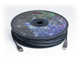 Magenta Research MG-AOC-881-100 328ft/100m DisplayPort 1.4 Active Optical Cable