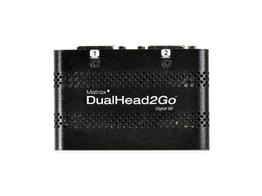 Matrox D2G-DP2D-IF DualHead2Go Digital SE Graphics eXpansion Module