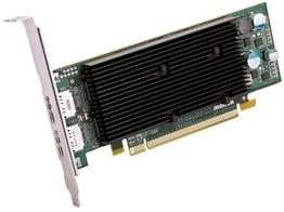 Matrox M9128-E1024LAF M9128 LP PCIE X16 Dualhead Displayport Graphics Card
