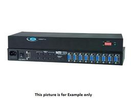NTI se-av-4-rs VGA Video Switch with Audio/RS232 /4 Computers Between 1 Monitor