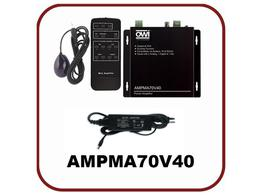 OWI AMPMA70V40 Digital 70 Volt Mini Amplifier/Mic Mixer with Remote Control