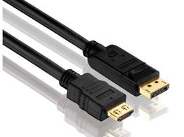 PureLink PI5100-010 DisplayPort to HDMI Cable with TotalWire - 1m (3.3 ft)