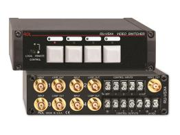 RDL RU-VSX4 4x1 BNC Video Switcher