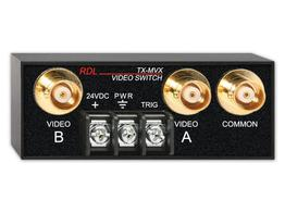 RDL TX-MVX 2x1 BNC Manual Rmt Controlled Video Switch