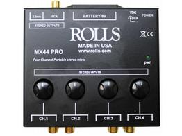 Rolls MX44 Pro 4-Channel Stereo Mixer