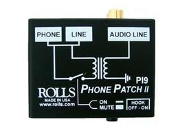 Rolls PI9 Phone Patch RJ11 to RCA or 1/8 inch mini