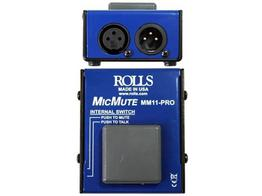 Rolls MM11 PRO Switchable Mic Mute/Talk Professional Microphone Switch