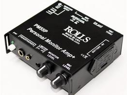 Rolls PM55P Personal Monitor Amp/Limiter/Battery
