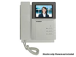 SECO-LARM DP-222-MQ Additional Color Video Door Phone Monitor with handset
