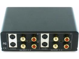 Shinybow SB-3716 1x4 S-VIDEO and AUDIO DISTRIBUTION AMPLIFIER SPLITTER