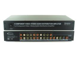 Shinybow SB-3730 (300) 1x4 Component Video (YPbPr)/Audio Splitter